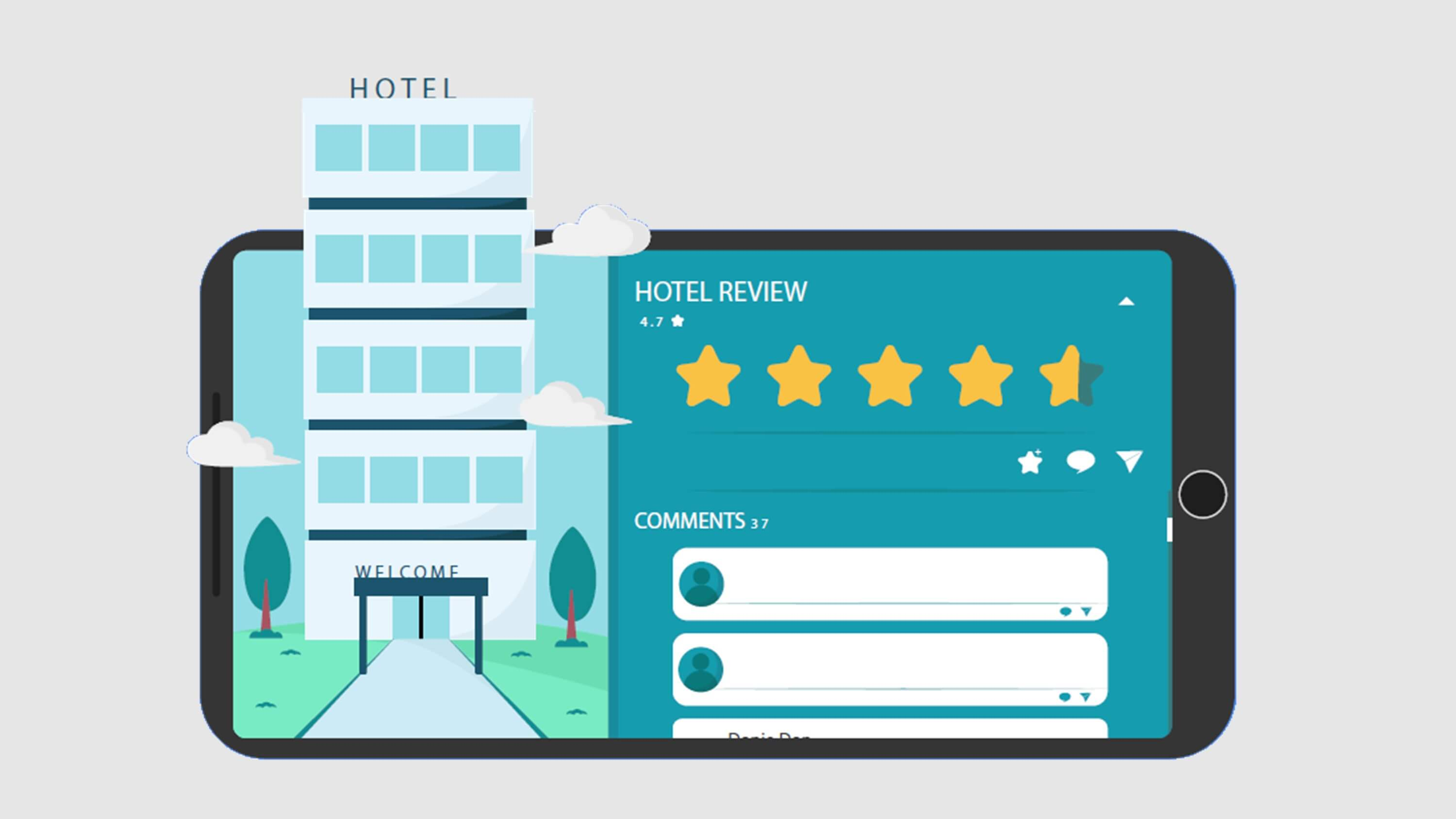 Customer Reviews For Hotels and Restaurants